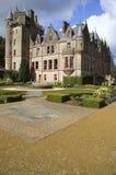 Abbildung des Belfast-Schlosses in Nordirland. Lizenzfreie Stockfotos