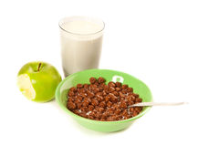 Abbildung des Frühstücks Lizenzfreie Stockfotografie