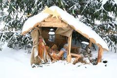 Abbildung des Geburt Christis Stockfotografie