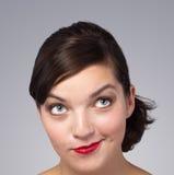 Abbildung des Gesichtes einer schönen Frau Lizenzfreie Stockbilder