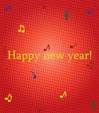 Abbildung des glücklichen neuen Jahres Lizenzfreie Stockfotografie