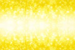 Abbildung des Goldweihnachten background Lizenzfreie Stockfotografie