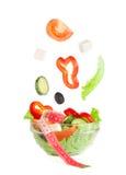Abbildung des griechischen Salats Lizenzfreie Stockfotografie