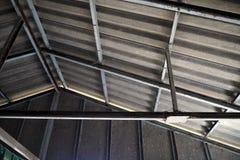 Abbildung des herausgestellten Dachaufbaus Lizenzfreie Stockfotos