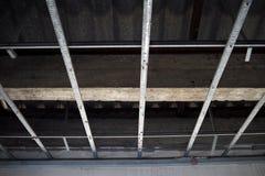 Abbildung des herausgestellten Dachaufbaus Lizenzfreie Stockfotografie
