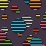 Abbildung des Hintergrundes nützlich für viele Anwendungen Realistisches rundes Muster Lizenzfreies Stockfoto