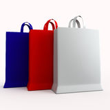 Abbildung des Pakets 3D Lizenzfreie Stockfotografie