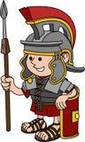 Abbildung des römischen Soldaten Stockfotos
