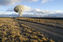 Abbildung des Radioteleskops Lizenzfreie Stockfotos