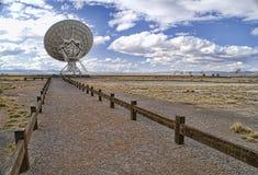 Abbildung des Radioteleskops Lizenzfreie Stockfotografie