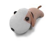 Abbildung des Spielzeughund 3d Stockfoto
