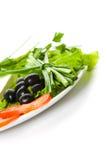 Abbildung des unterschiedlichen Gemüses Lizenzfreies Stockfoto