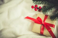 Abbildung des Vektor eps10 Weihnachtsgeschenk Stockbilder