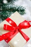 Abbildung des Vektor eps10 Weihnachtsgeschenk Lizenzfreies Stockbild