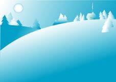 Abbildung des Winters Lizenzfreie Stockfotografie