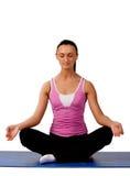 Abbildung des Yogaoriginals Lizenzfreie Stockfotografie