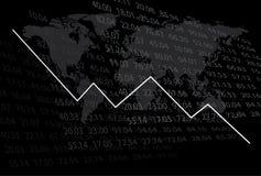 Abbildung - Diagrammerscheinenabnahme - ENV Lizenzfreies Stockfoto