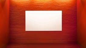Abbildung, die Vorstand in der Kunstgalerie darstellt Stockbild