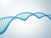 Abbildung DNA-3d Stockfoto