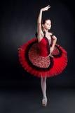 Abbildung einer Ballerina Lizenzfreie Stockfotos