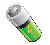 Abbildung einer Batterie Stockfoto