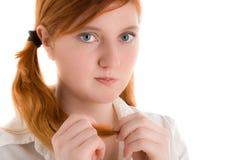 Abbildung einer jungen Frau Stockfotografie