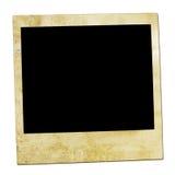 Abbildung einer Polaroidfrontseite. Stockfotos