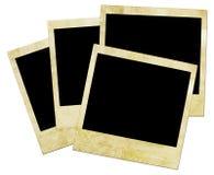 Abbildung einer Polaroidfrontseite. Lizenzfreie Stockbilder