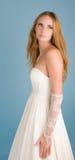 Abbildung einer schönen Braut mit Schmucksachen Lizenzfreie Stockfotografie