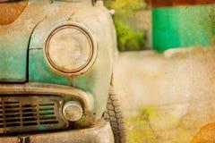 Abbildung eines alten Autos Stockfotos