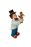 Abbildung eines Clowns Lizenzfreie Stockbilder