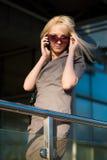 Abbildung eines Gehens der jungen Frau Lizenzfreies Stockfoto
