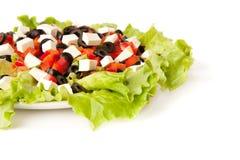 Abbildung eines griechischen Salats Lizenzfreie Stockbilder