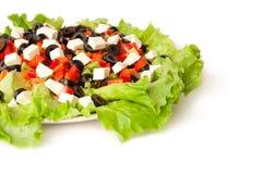Abbildung eines griechischen Salats Stockfotografie