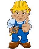 Abbildung eines Handwerkers Stockfoto