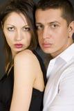 Abbildung eines jungen Paares Lizenzfreie Stockfotografie