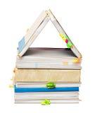 Abbildung eines kleinen Hauses Lizenzfreie Stockfotografie