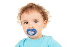 Abbildung eines netten kleinen Jungen Stockbild