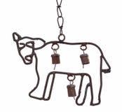 Abbildung eines Pferds, Metall Stockfotografie