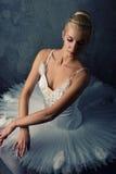 Abbildung eines schönen Balletttänzers. Lizenzfreies Stockfoto