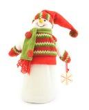 Abbildung eines Schneemanns Lizenzfreie Stockfotos