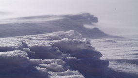 Abbildung eingelassene Antarktik auf dem Eisregal Stockbilder