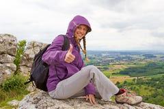 Abbildung eingelassene polnische Berge Stockfoto