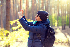 Abbildung eingelassene polnische Berge Lizenzfreie Stockbilder