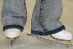 Abbildung Eislauf Lizenzfreie Stockfotos