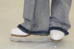 Abbildung Eislauf Stockbild