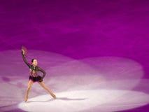 Abbildung Eislauf-olympische Gala - Mao Asada Stockfotos