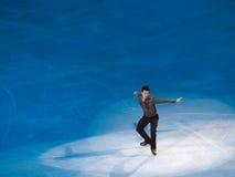 Abbildung Eislauf-olympische Gala, Patrick Chan, Kanada Lizenzfreie Stockfotos
