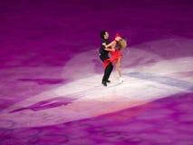Abbildung Eislauf-olympische Gala, T.Belbin u. B. Agosto Lizenzfreie Stockfotos