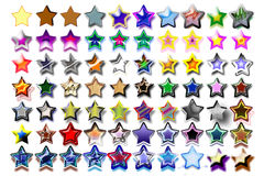 Abbildung Fünf-Sterne09 Stockbild